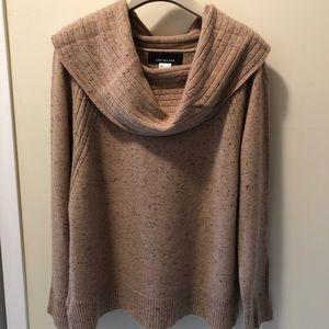 Jones New York Cashmere Cowl Neck Sweater